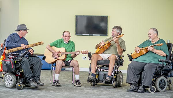 Music Jam Session with Developmental Disabilities
